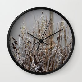 Frosty Morning Wall Clock