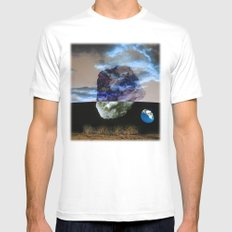 Multiverse Mens Fitted Tee MEDIUM White
