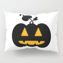Jack-o'-lantern Pillow Sham