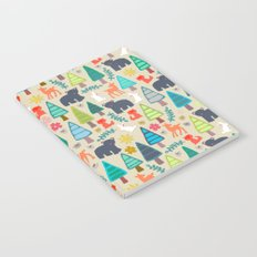 summer woodland Notebook