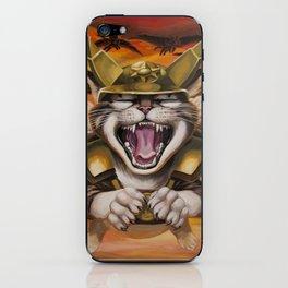 Hawk cats, DIVE! iPhone Skin