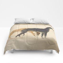 Two Greyhounds Comforters