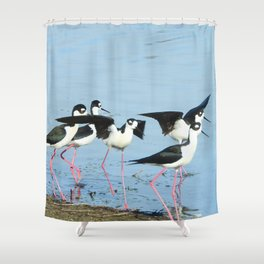 Hanging With Friends Shower Curtain