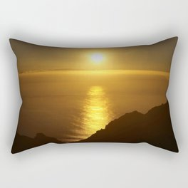 Sunset over the Canary Islands Rectangular Pillow