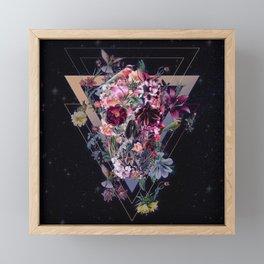 New Skull Framed Mini Art Print