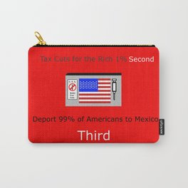 America FIrst Carry-All Pouch