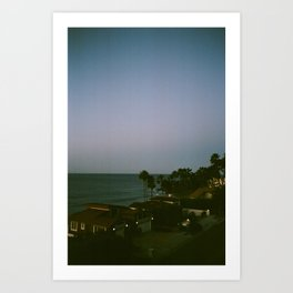 Malibu Nights Art Print