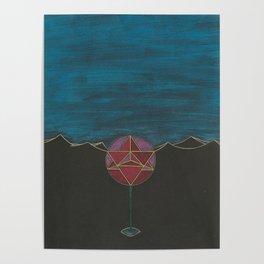 Light Spirit Rose Poster