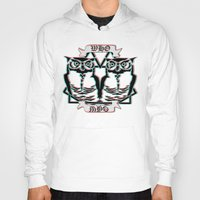 the who Hoodies featuring Who by VirgoSpice