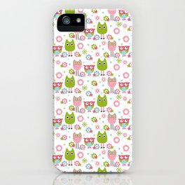 Whimsy Owls iPhone Case