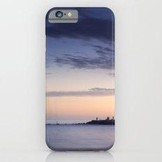 Purple sunset. Mediterranean sea. iPhone 6 Slim Case