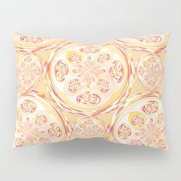 Geometric pizza pattern Pillow Sham