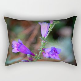 Blue Bells Rectangular Pillow