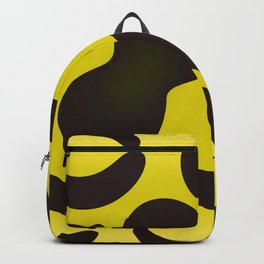 Yellow Anaconda Backpack