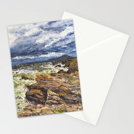 Wind swept sea Anglesey Gromlech Stationery Cards