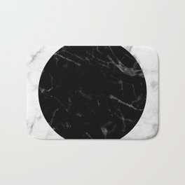 Marble Dot Collage Bath Mat