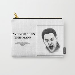 """""""Twin Peaks"""" - Have you seen this man? Carry-All Pouch"""