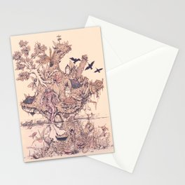 Fig Tree Island Stationery Cards