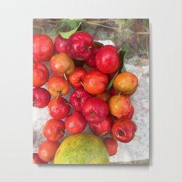 Juicy Fruit Metal Print