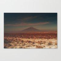 desert Canvas Prints featuring desert by Lunakhods