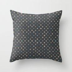 LOTS OF DOTS / basement Throw Pillow