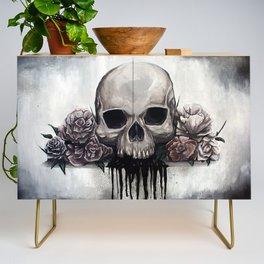 Skull + Roses Credenza