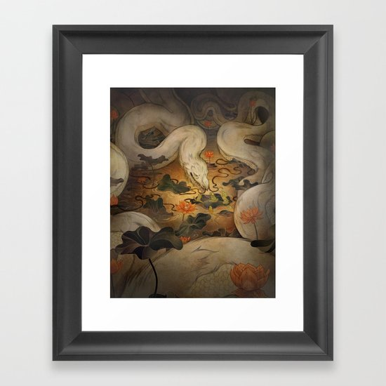 The Kings Request Framed Art Print