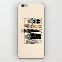 high iPhone & iPod Skins featuring Unusual Suspects by castlepöp