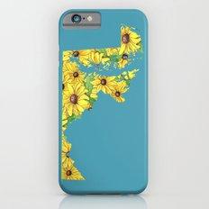 Maryland in Flowers Slim Case iPhone 6