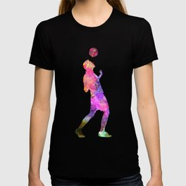 man soccer football player 06 T-shirt