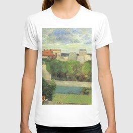 The Market Gardens of Vaugirard - Paul Gauguin (1879) T-shirt