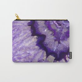 Purple Crystal Carry-All Pouch