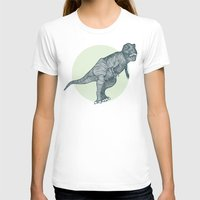 dino T-shirts featuring Dino by maeveelectro