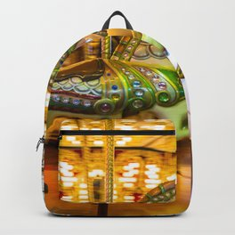 Merry Go Round Carousel Horse Backpack