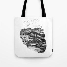 I Heart Sonoma County Tote Bag