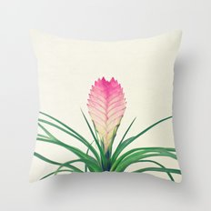 Bromelia II Throw Pillow
