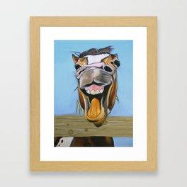 Yee Haw Framed Art Print