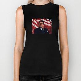 President Ronald Reagan Biker Tank