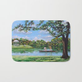 Mary Poppins in the park Bath Mat