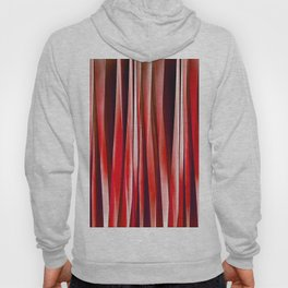 Impulsive Adventure Red Striped Abstract Pattern Hoody