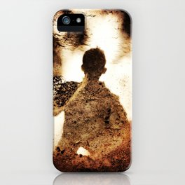 Archaeology in the Shadows iPhone Case