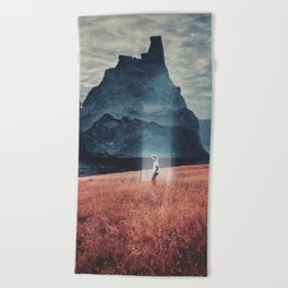 Andromeda Beach Towel
