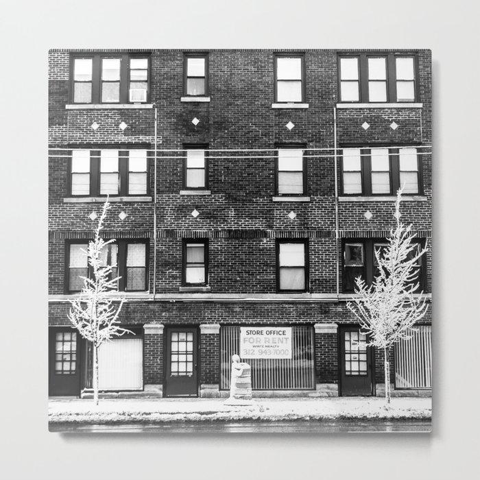 Street Symmetry  Metal Print