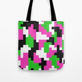 Girl Boss neon color blocks Tote Bag
