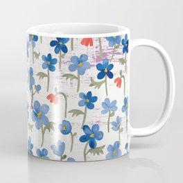 Blue Anemone - Springflowers Coffee Mug