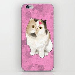 Cherry_the_flat_face_princess iPhone Skin