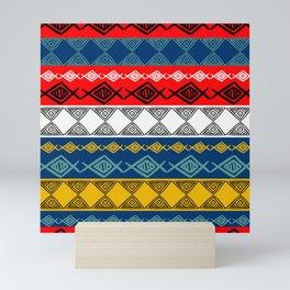 Colorful Tribal Mini Art Print