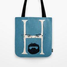 H is for Heisenberg Tote Bag