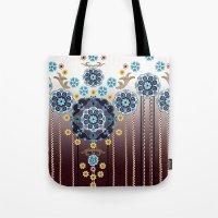 folk Tote Bags featuring Folk Festival by Vikki Salmela