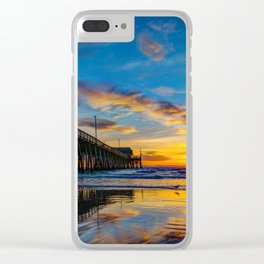 December Colors Clear iPhone Case